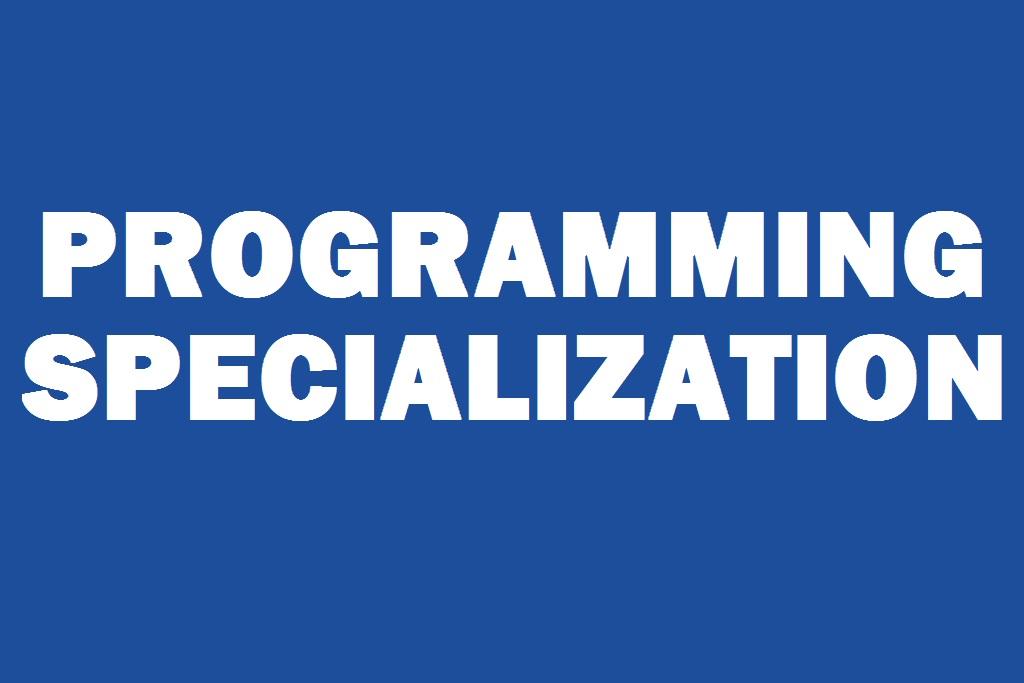 Programming Specialization
